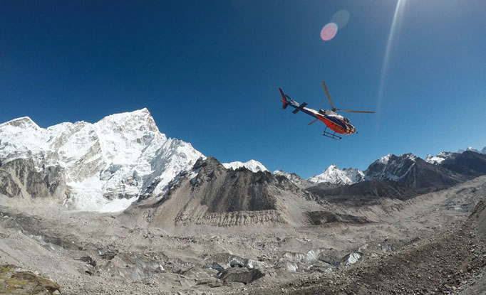 Lukla to Everest Heli Tour